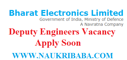 BEL-INDIA-deputy ENGINEERS-recruitment-vacancy-2019